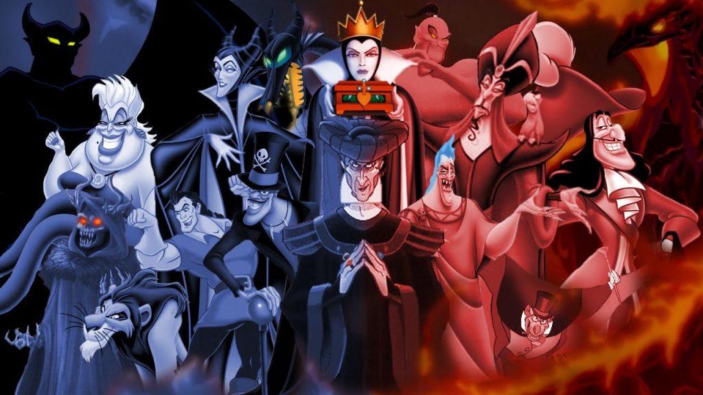 Disney Villain songs for Halloween