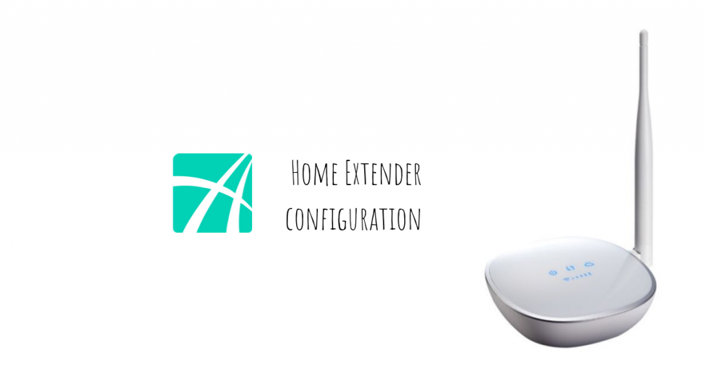 How to configure Asante Home Extender for wireless operation?