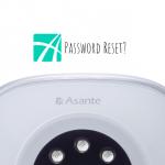asante password reset