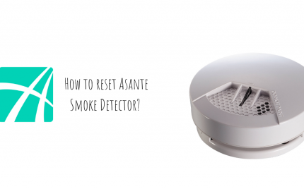 How to reset Asante Smoke Detector?